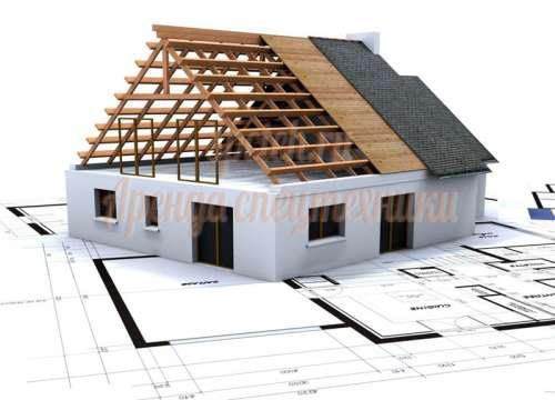 Строительство домов по канадской технологии из СИП панелей на винтовых сваях